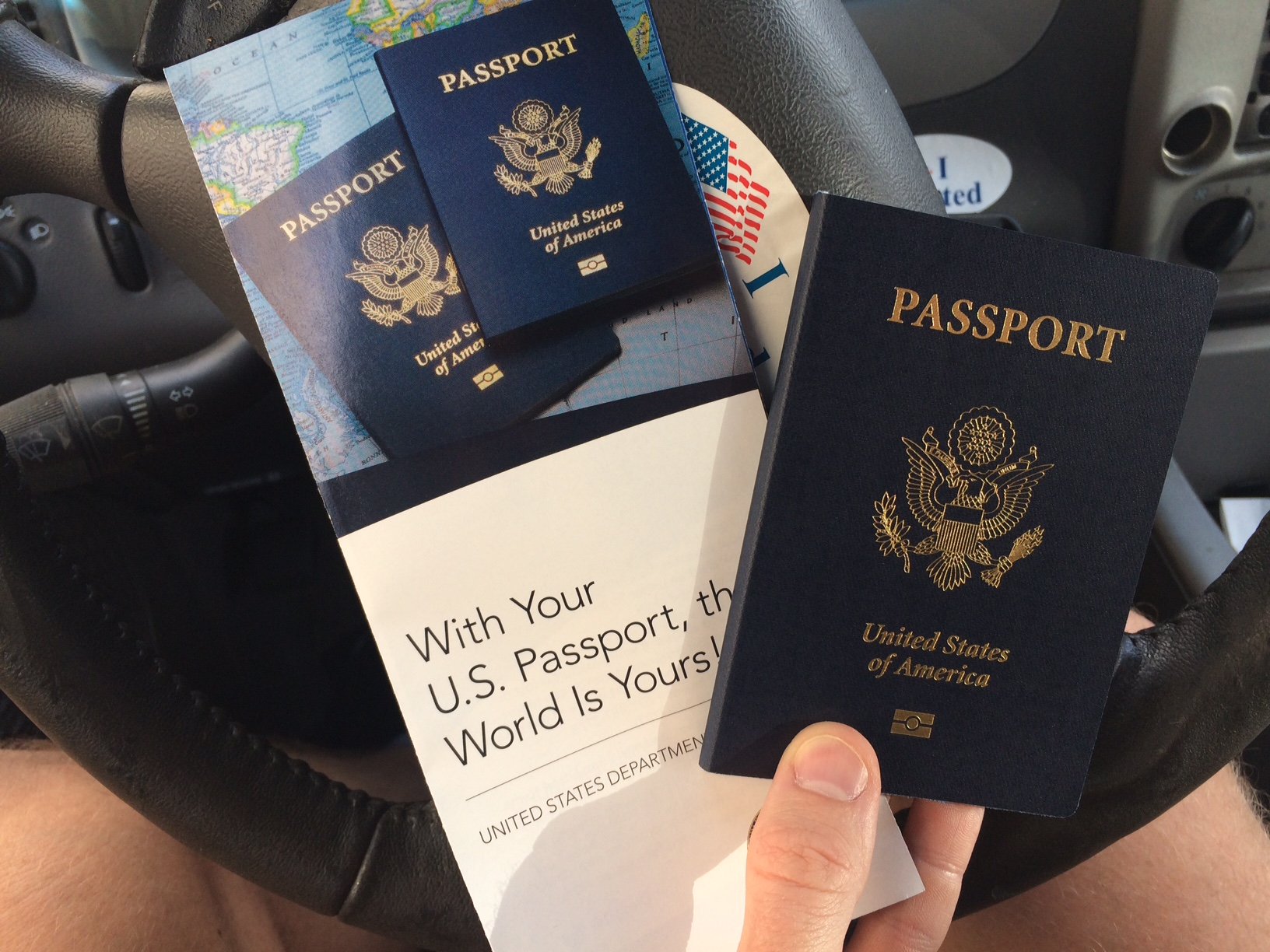 Once you get a New Passport, there are 5 things to do ...