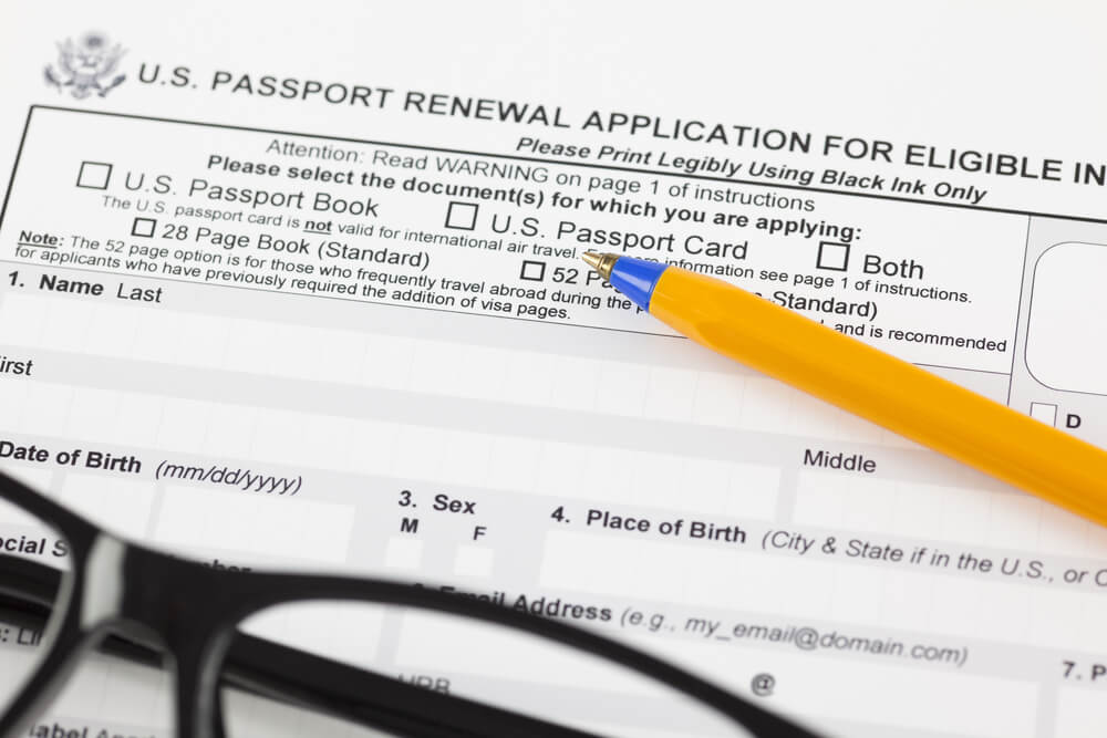 Passport Renewal in Person 1 - How much does it cost to renew passports?