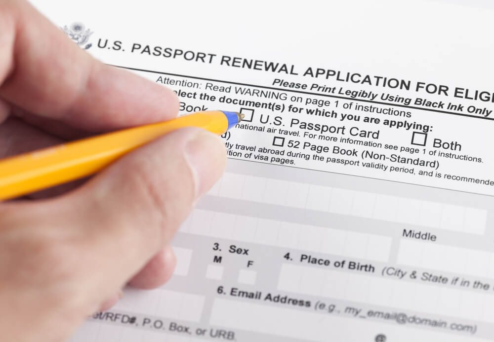 passport renewal form 1 - Let Travel Visa Pro Handle Your Passport Renewal Application Form