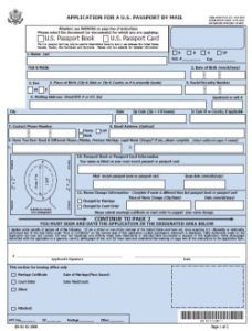 Passport Application Form For British Passport, Ds 82 Passport Renewal Application Form 228x, Passport Application Form For British Passport
